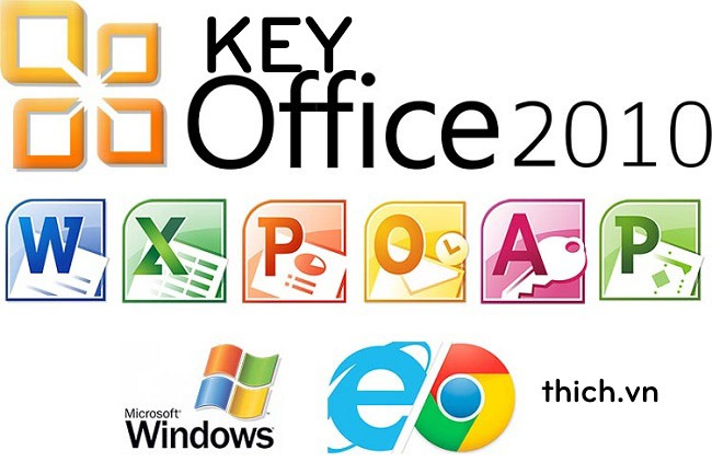 Key Office 2010, Share Product key Office 2010 Professional mới nhất 2021